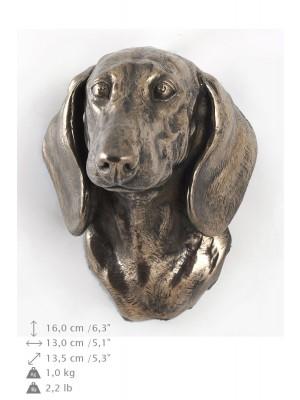 Jamnik Gładkowłosy - figurine (bronze) - 420 - 9883