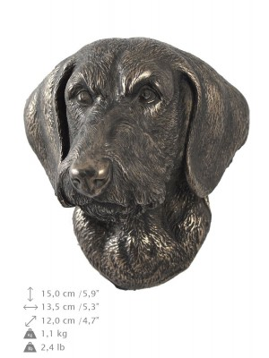 Jamnik Szorstkowłosy - figurine (bronze) - 422 - 9884
