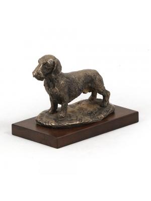 Jamnik Szorstkowłosy - figurine (bronze) - 595 - 2691