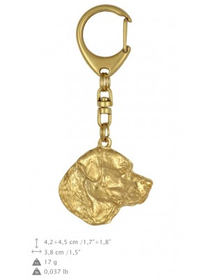 Labrador Retriever - keyring (gold plating) - 827 - 25152