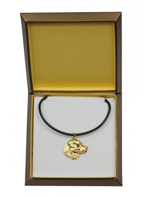 Labrador Retriever - necklace (gold plating) - 2492 - 27651