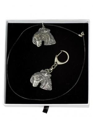Lakeland Terrier - keyring (silver plate) - 2029 - 16681