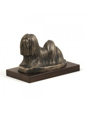 Lhasa Apso - figurine (bronze) - 608 - 2717