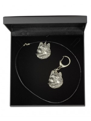 Malamute - keyring (silver plate) - 1771 - 11502