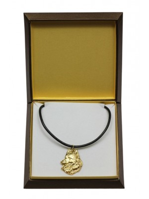 Malinois - necklace (gold plating) - 3041 - 31677