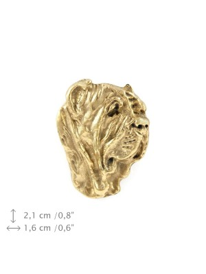 Neapolitan Mastiff - pin (gold plating) - 1063 - 7704