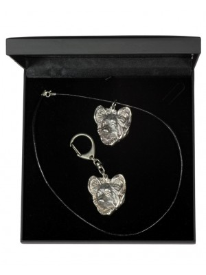Papillon - keyring (silver plate) - 1856 - 12723