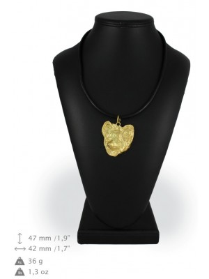 Papillon - necklace (gold plating) - 2524 - 27591