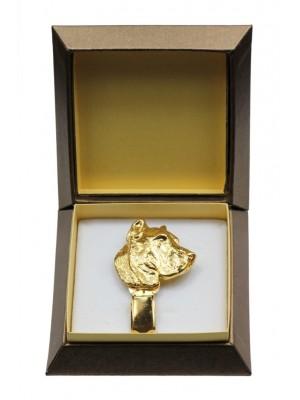 Perro de Presa Canario - clip (gold plating) - 2614 - 28575