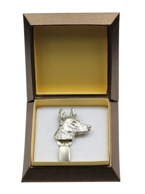 Pharaoh Hound - clip (silver plate) - 2572 - 28153