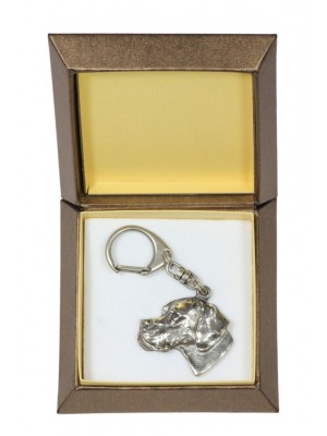 Pointer - keyring (silver plate) - 2825 - 29948