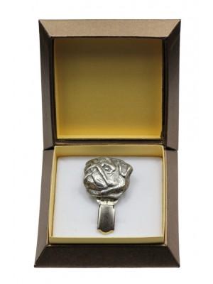 Pug - clip (silver plate) - 2553 - 28134