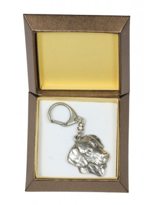 Rhodesian Ridgeback - keyring (silver plate) - 2742 - 29861