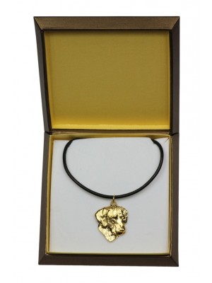 Rhodesian Ridgeback - necklace (gold plating) - 2479 - 27638