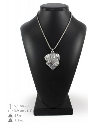 Rhodesian Ridgeback - necklace (silver cord) - 3170 - 33082