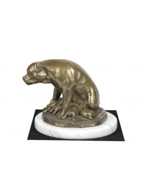 Rottweiler - figurine (bronze) - 4628 - 41567