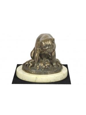 Rottweiler - figurine (bronze) - 4675 - 41802