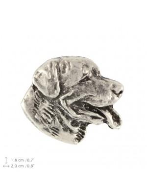 Rottweiler - pin (silver plate) - 2369 - 26075