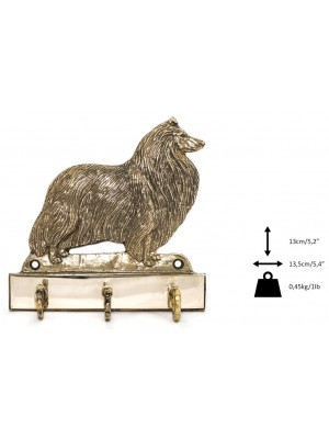 Rough Collie - hanger - 1648 - 9561