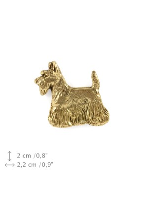 Scottish Terrier - pin (gold) - 1504 - 7498