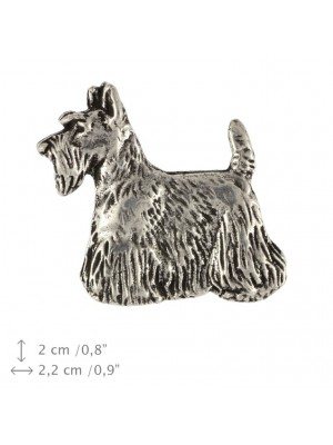 Scottish Terrier - pin (silver plate) - 1533 - 26019