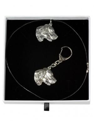 Setter - keyring (silver plate) - 1963 - 15085
