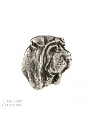 Shar Pei - pin (silver plate) - 2236 - 22339