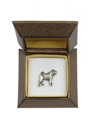 Shar Pei - pin (silver plate) - 2670 - 28952