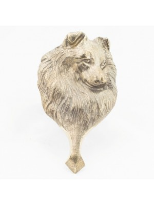 Shetland Sheepdog - knocker (brass) - 339 - 21805
