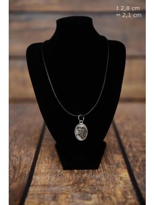 Shetland Sheepdog - necklace (silver plate) - 3435 - 34898