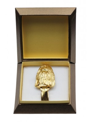 Shih Tzu - clip (gold plating) - 2591 - 28552