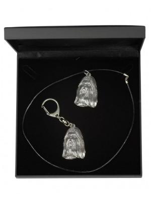 Shih Tzu - keyring (silver plate) - 1786 - 11750
