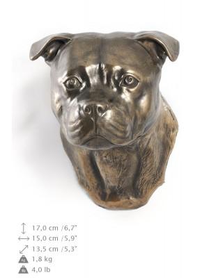 Staffordshire Bull Terrier - figurine (bronze) - 537 - 9890