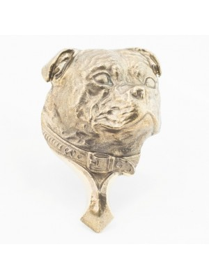 Staffordshire Bull Terrier - knocker (brass) - 340 - 21806