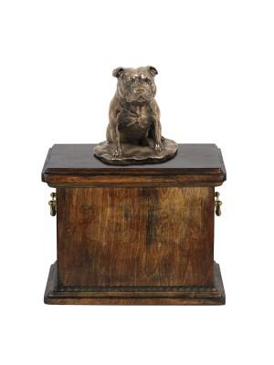 Staffordshire Bull Terrier - urn - 4075 - 38388