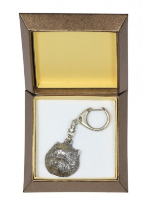 West Highland White Terrier - keyring (silver plate) - 2765 - 29884