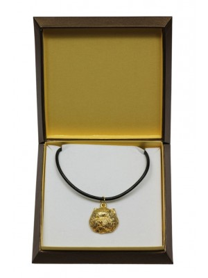 West Highland White Terrier - necklace (gold plating) - 3046 - 31682