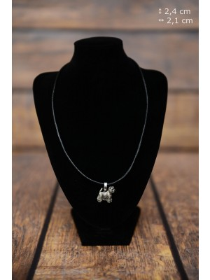 West Highland White Terrier - necklace (strap) - 3845 - 37202