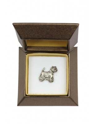 West Highland White Terrier - pin (silver plate) - 2643 - 28924