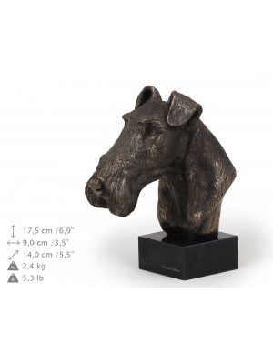 Wire Fox Terrier - figurine (bronze) - 217 - 9143
