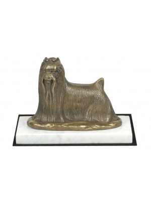 Yorkshire Terrier - figurine (bronze) - 4634 - 41597