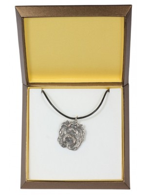 Yorkshire Terrier - necklace (silver plate) - 2918 - 31062