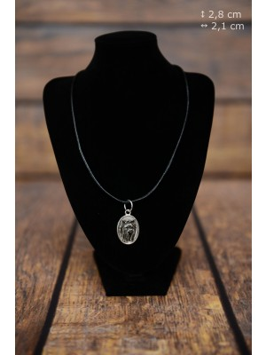 Yorkshire Terrier - necklace (silver plate) - 3426 - 34868