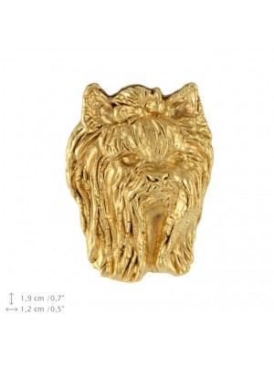 Yorkshire Terrier - pin (gold plating) - 2383 - 26143