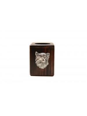 Chihuahua - candlestick (wood) - 3985