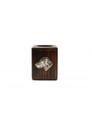 Vizsla - candlestick (wood) - 3994