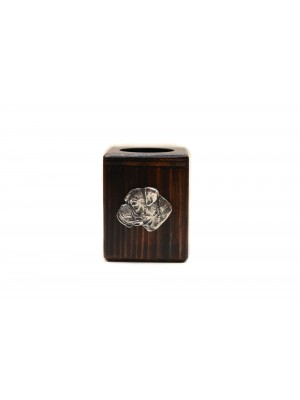Boxer - candlestick (wood) - 3924