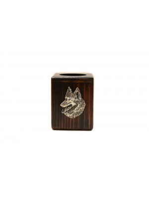 Malinois - candlestick (wood) - 3931