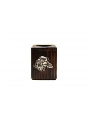 Dachshund - candlestick (wood) - 3940