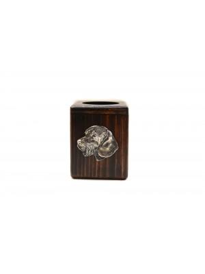 Dachshund - candlestick (wood) - 3950